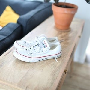 Converse white all star canvas sneakers shoes 9